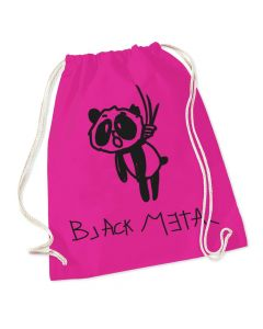 HEAVY METAL HAPPINESS - Black Metal Panda / Gymnastic Bag