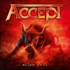 21133 accept blind rage digipak cd and bonus dvd heavy metal