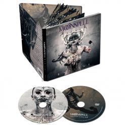 moonspell extinct mediabook cd dvd