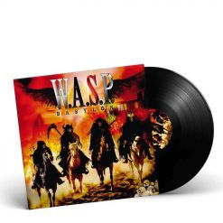 24368 w.a.s.p. babylon black lp heavy metal