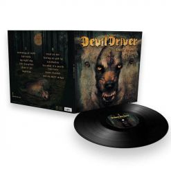 26502 devildriver trust no one black lp + download code groove metal
