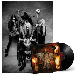 Satyricon Nemesis Divina Black LP and Poster