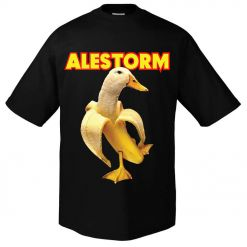 alestorm banana duck t-shirt