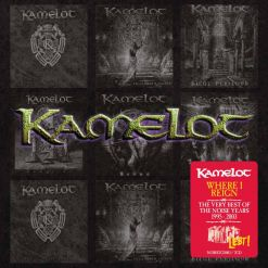 26874 kamelot where i reign - the very best of the noise years 2-cd symphonic metal