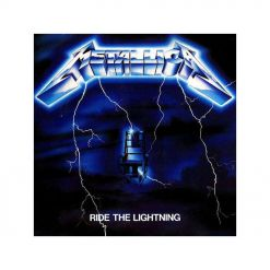 METALLICA - Ride The Lightning / BLACK Vinyl