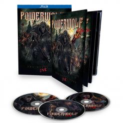 POWERWOLF - The Metal Mass - Live / Mediabook 2-Blu-Ray + CD