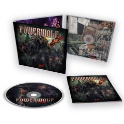 POWERWOLF - The Metal Mass - Live / Digipak CD