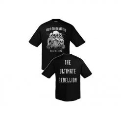 27965 dark tranquillity fiction skull t-shirt
