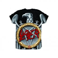 SLAYER - Silver Eagle Sublimation / T-Shirt