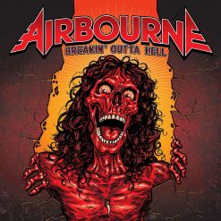 Airbourne album cover Breakin Outta Hell