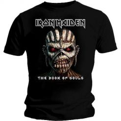 iron maiden the book of souls shirt