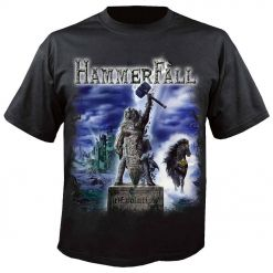 33028-1 hammerfall (r)evolution festivals t-shirt