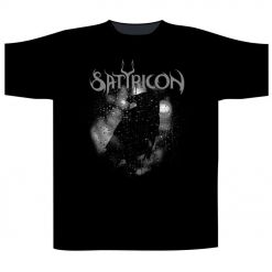 SATYRICON Black Crow And A Tombstone / T-Shirt