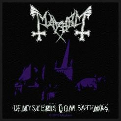 MAYHEM - De Mysteriis Dom Sathanas / Patch