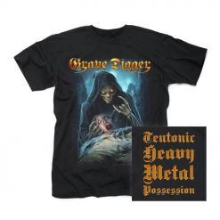 grave digger teutonic heavy metal possession shirt