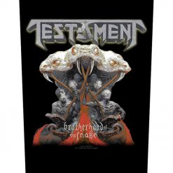 TESTAMENT - Brotherhood Of The Snake / Backpatch