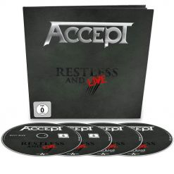 40978-1 accept restless and live earbook heavy metal