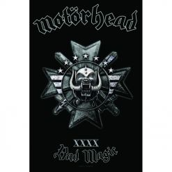 motörhead - bad magic - flagge - napalm records