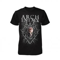 arch enemy skull shirt