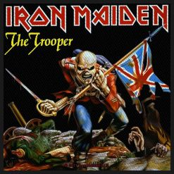 IRON MAIDEN - The Trooper / Patch