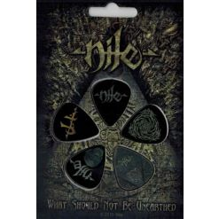 NILE - What Should Not Be Unearthed / Plectrum Pack