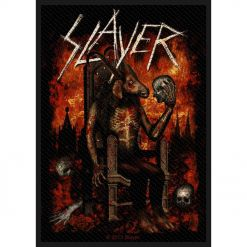 SLAYER - Devil On Throne / Patch