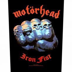 Iron Fist - Backpatch