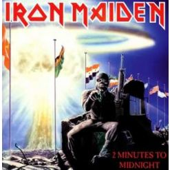 "IRON MAIDEN - 2 Minutes To Midnight / BLACK 7"" EP"
