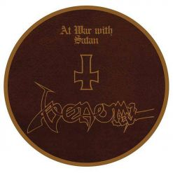 At War With Satan PICTURE LP