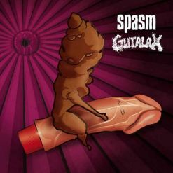 GUTALAX / SPASM - Split / CD