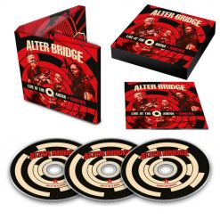 44275 alter bridge live at the 02 arena + rarities 3-cd digipak alternative metal