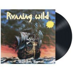 RUNNING WILD - Under Jolly Roger / BLACK LP