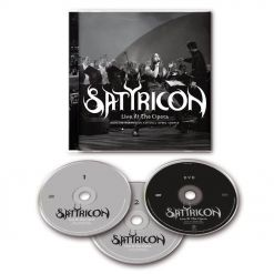 SATYRICON - Live At The Opera / Brilliant Box DVD + 2-CD