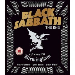 BLACK SABBATH - The End (Live In Birmingham) / Digipak BLU-RAY + CD