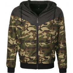 STREETSPUN - Light Streetspun Windbreaker / Black/Camouflage - Front
