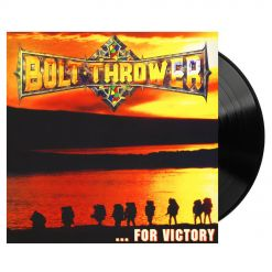BOLT THROWER - For Victory / BLACK LP