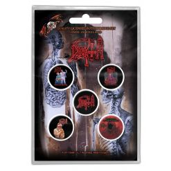 DEATH - Albums / Button Badge Pack