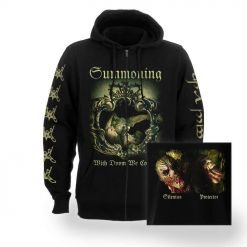 46417-1 summoning with doom we come zip hoodie