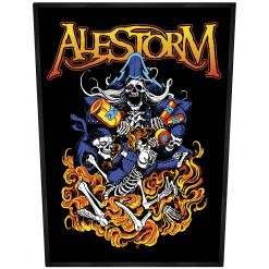 alestorm pirate entry level backpatch
