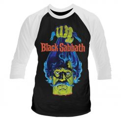 Plan 9 - Black Sabbath / Baseball Shirt