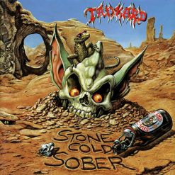 TANKARD - Stone Cold Sober / BLUE & GOLD SPLATTER LP