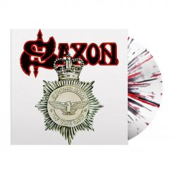 SAXON - Strong Arm Of The Law / WHITE/BLACK/RED Splatter LP