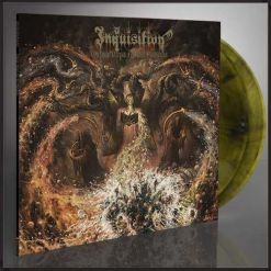 INQUISITION - Obscure Verses For The Multiverse / CRYSTAL CLEAR/GREEN/BLACK Mixed 2-LP