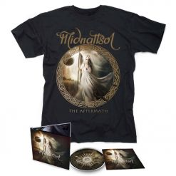 midnattsol the aftermath digipak shirt bundle