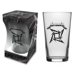 METALLICA - Black Album / Beer Glass