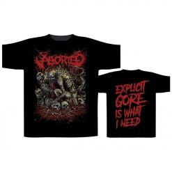 49892-1 aborted god machine t-shirt