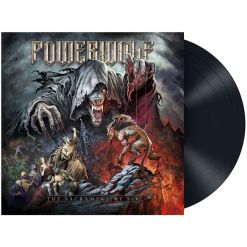 POWERWOLF - The Sacrament Of Sin / BLACK LP Gatefold