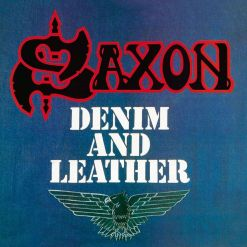 SAXON - Denim And Leather / Digibook