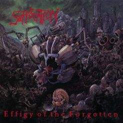 Effigy Of The Forgotten / RED BLACK MARBLED LP