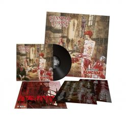 CANNIBAL CORPSE - Gallery of Suicide / BLACK LP